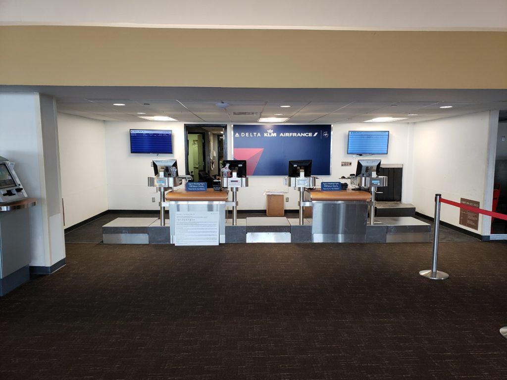 Delta terminal counter photo