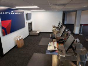 Delta terminal counter