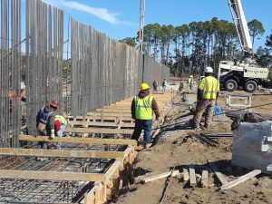 Parris Island construction work photo