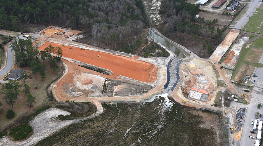 Semmes Lake Dam Reconstruction